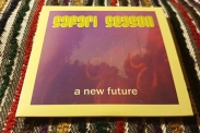 "Safari Seasons album ""A new future"". (Foto: Pär Dahlerus)"