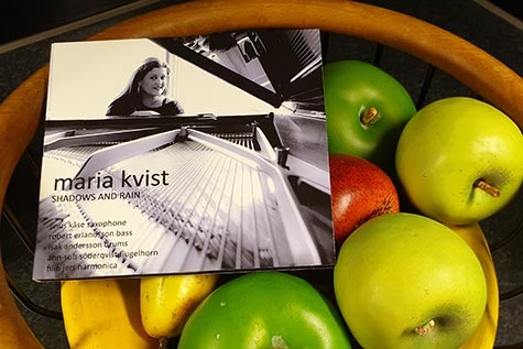 Maria Kvist nya album Shadows and Rain. (Foto: Pär Dahlerus)