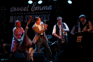Sweet Emma & The Mood Swingers. (Foto: Morgan Jansson, arkiv)